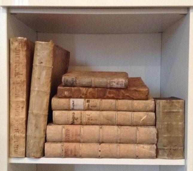 Pośród starych, średniowiecznych książek można znaleźć dużo ponadczasowej mądrości i spokoju.